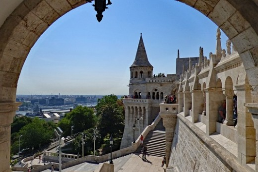fisherman's bastion budapest castle district